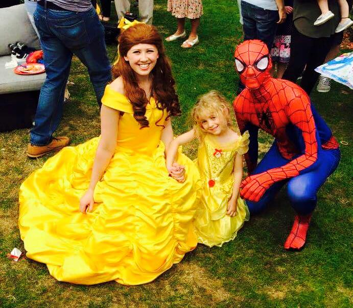 Belle and Spiderman