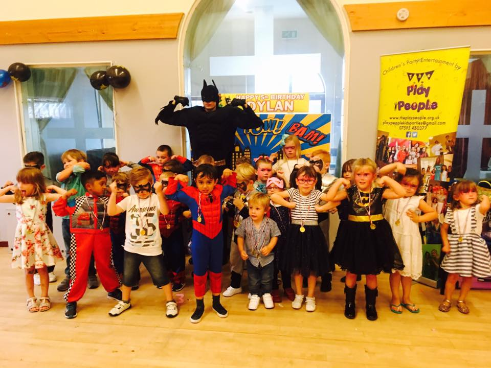 batman and group of kids
