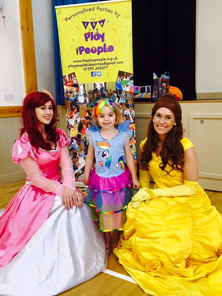 Ariel and Belle