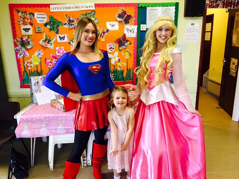 Supergirl and Sleeping Beauty