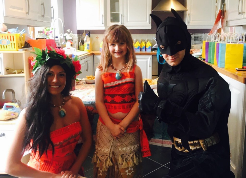 Moana Batman and grace